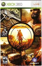 xbox360 FARCRY 2 french Manual Only NO GAME