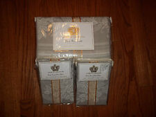 NIP Court of Versailles Linen Rose Queen Duvet Cover Set 3pc