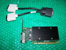 Nvidia NVS 300 512MB PCI Express x16  Dual Monitor Card + Splitter Cable