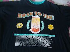 Vintage 90s Road To the NCAA 1993 FINAL FOUR Basketball double Collar T Shirt XL