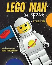 LEGO Man in Space : A True Story by Mara Shaughnessy (2013, Hardcover)