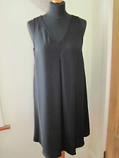 GOK WAN 12 Stunning SEXY SWING TUNIC short dress NEW flattering LITTLE BLACK