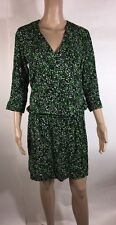 And & Other Stories Ladies Emerald Green Stretch Summer Spring Dress Size 8