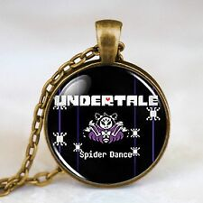 Undertale Muffet Spider Bake GAME GIOCO Steampunk Collana