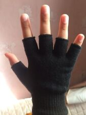 Man Magic Fingerless Gloves  One Size Work Gloves  Only .99p