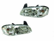 For 2000-2001 Nissan Maxima GLE GXE SE Head Lights Driver & Passenger Side LH+RH