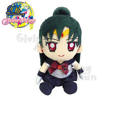 "GENUINE BANDAI Sailor Moon 20th Anniversary Sailor Pluto 8"" Plush Doll Toy JP"