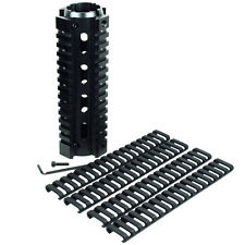 "Carbine Length 6.7"" Handguard Picatinny Quad Rail w/ Pack of 4 Ladder Rail Cover"