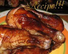 ☆Tenderizes!☆Honey-Beer Barbecue Sauce Recipe☆ BBQ Grill!ing ~ Oven Bake Too!☆