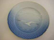 "VINTAGE B&G BING & GRONDHAL SEAGULL GOLD RIMMED PLATE, 7 1/2"" DIAMETER"