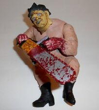 Chainsaw Massacre Naked Fat Leatherhead Bloody Poseable Action Figure