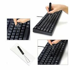 Useful Keyboard Key Keycap Puller Key Caps Remover With Unloading Steel Cleaning
