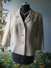Collections For Le Suit Champagn Floral Evenings Women Jacket Suit Blazer SZ 14