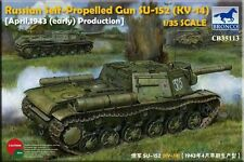 Bronco 1/35 CB35113 Russian Self-Propelled Gun SU-152 (KV-14) Early Type