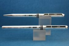 Vintage Colibri Polished Chrome Ballpoint & Rollerball Pen, Cased