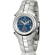 OROLOGIO SECTOR UNISEX 195 CHRONO BLU WATCH GENT R3273695535 (P.LIST Euro 229)