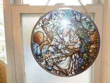 Stained Glass Guild Memorial Window Tiffany Madonna of Flowers Arlington Church