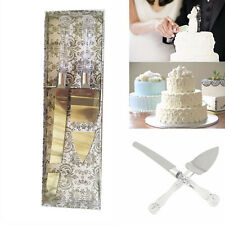 Anniversary Wedding Party Cake Knife and Server Set Gift