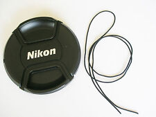 NIKON LC-62 62MM CENTRE PINCH CLIP ON LENS CAP FOR NIKON