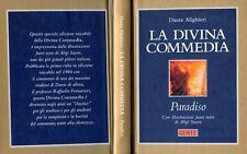 """DANTE ALIGHIERI """" LA DIVINA COMMEDIA : PARADISO """" con illustrazioni fuori testo"""