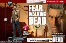 McFARLANE - FEAR THE WALKING DEAD - TRAVIS MANAWA AF  -  FIGUR - NEU