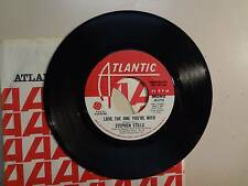"STEPHEN STILLS: Love The One You're With 3:03 Mono-Stereo-U.S. 7"" 70 Atlantic DJ"