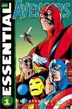 Marvel Essentials: Avengers Vol. 1 by Stan Lee (1998, Paperback)