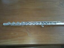 Verne Q Powell Professional Silver Flute - Low B - Inline G - Serial 5515