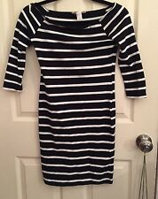 Black and White Striped Dress by FOREVER 21 Size S