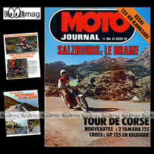 MOTO JOURNAL N°314 YAMAHA 125 DTMX GP SALZBURG EUGENIO LAZZARINI CECOTTO 1977