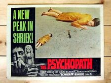 THE PSYCHOPATH Original HORROR DOLLS Lobby Card PATRICK WYMARK JUDY HUXTABLE