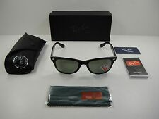 RAY-BAN WAYFARER LITEFORCE POLARIZED SUNGLASSES RB4195 601S9A GREEN LENS 52MM