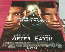 AFTER EARTH MOVIE POSTER 2 Sided ORIGINAL FINAL 27x40 WILL SMITH