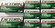 ✦NEW✦ LOT OF 8 EXCEDRIN EXTRA STRENGTH ACETAMINOPHEN ASPIRIN & CAFFEINE