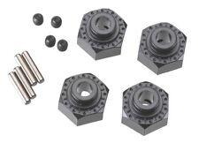 Axial [AXI] Aluminum Hex Hub 12mm Black (4) AXIAX30429 AX30429