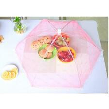 Hot Food Cover Tent Umbrella Collapsible Cake Covers Lace Mesh Net Insect GG