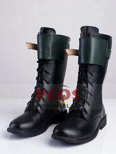 Green Arrow Season 4 Oliver Queen Cosplay Shoes / Boots mp003234
