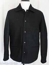 J CREW SKIFF JACKET WITH SHERPA LINING BLACK TAG HAS SMALL BUT FITS LARGE A9716