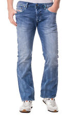 DIESEL W32 L30 Men's ZATINY 0823X_STRETCH Faded Bootcut Jeans - From POPPRI