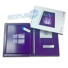 PACCHETTO RETAIL WINDOWS 10 PRO USB 3.0 CARD + CHIAVETTA INSTALLAZIONE ORIGINALE