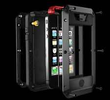 iPhone 4s Case Ambox Newest Extreme Shockproof Dust/Dirt Proof Aluminum Metal...