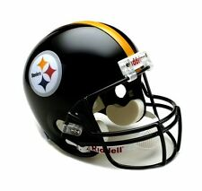 Pittsburgh Steelers NFL Team Logo Riddell Deluxe Full Size Football Helmet