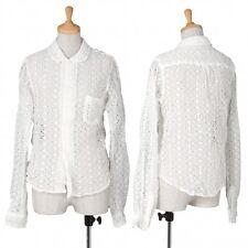 robe de chambre COMME des GARCONS Lace Shirt Size M(K-38491)