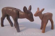 Playmobil Mother deer & baby fawn NEW animals for farm/zoo/forest sets