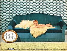 PUBLICITE ADVERTISING  1967   ZOL  canapé-lit