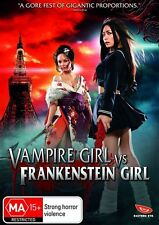 Vampire Girl vs Frankenstein Girl NEW R4 DVD