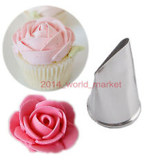 Best Flower Petal Nozzles Cake Cupcake Decorating Pastry Tips DIY Tool #T