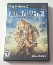 SONY PlayStation 2 PS2 Final Fantasy XII 12 (BLACK LABEL VERSION & COMPLETE)
