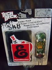 1 TECH DECK 96mm FINGERBOARD / STICKER PACK - EXPEDITION ONE BOARD NEW