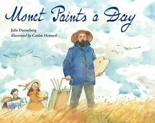 Monet Paints a Day-ExLibrary